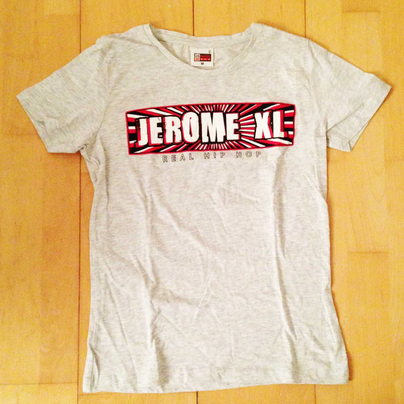 Jerome XL - Girly T-Shirt - Grijs